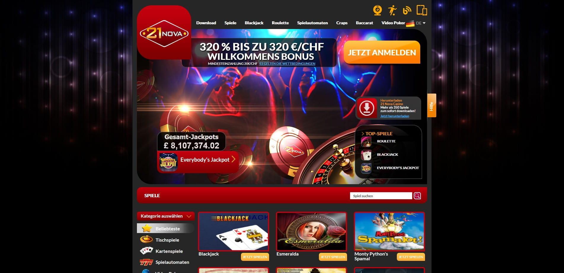 Neue Online Casino Bonus