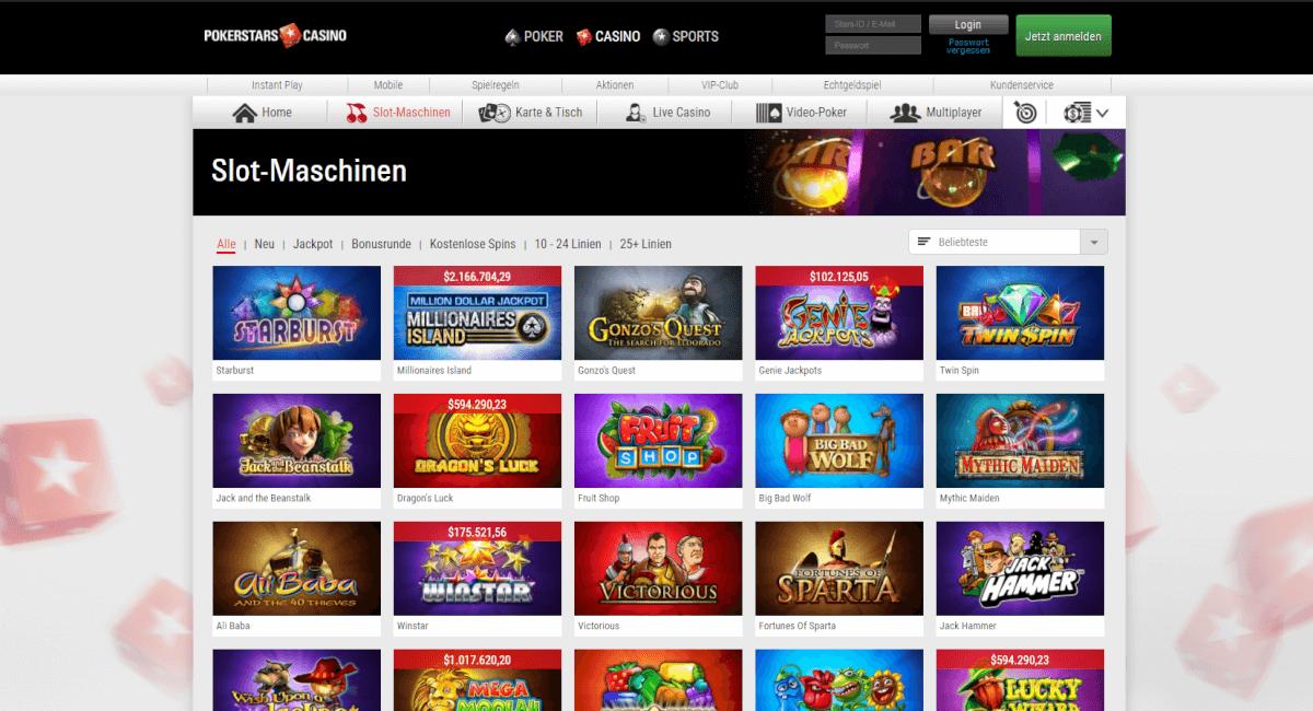 Spielautomaten Playtech PokerStars - 963584