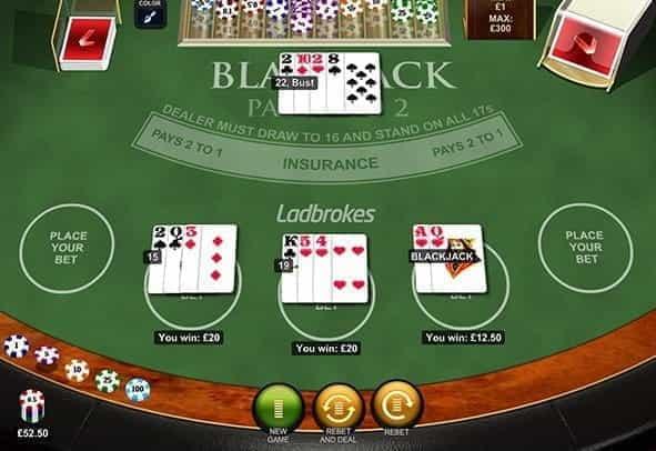 Free Bet Blackjack - 816843