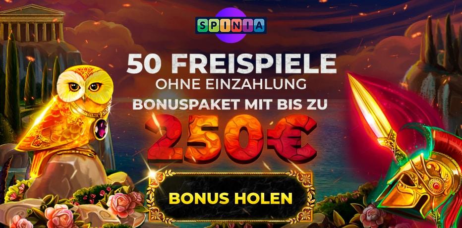 50 Freispiele - 97544