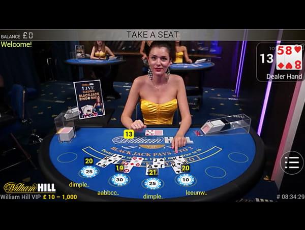 Live Casino online - 349876
