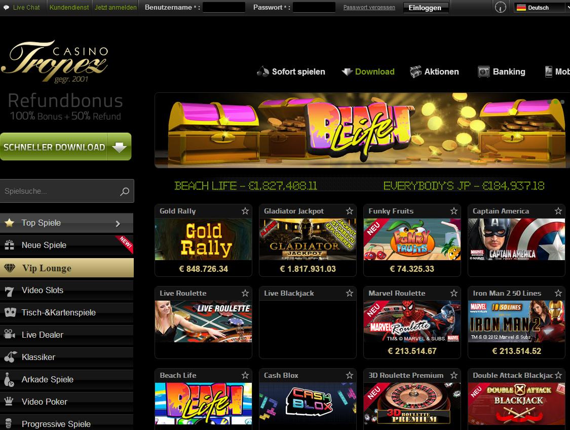 Rauchverbot in Casino - 261084