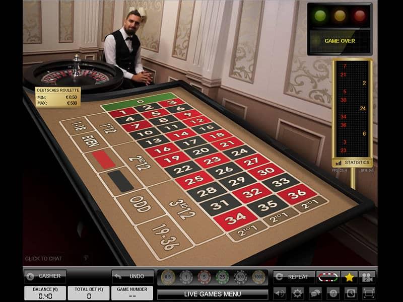Live Dealer bei - 776655