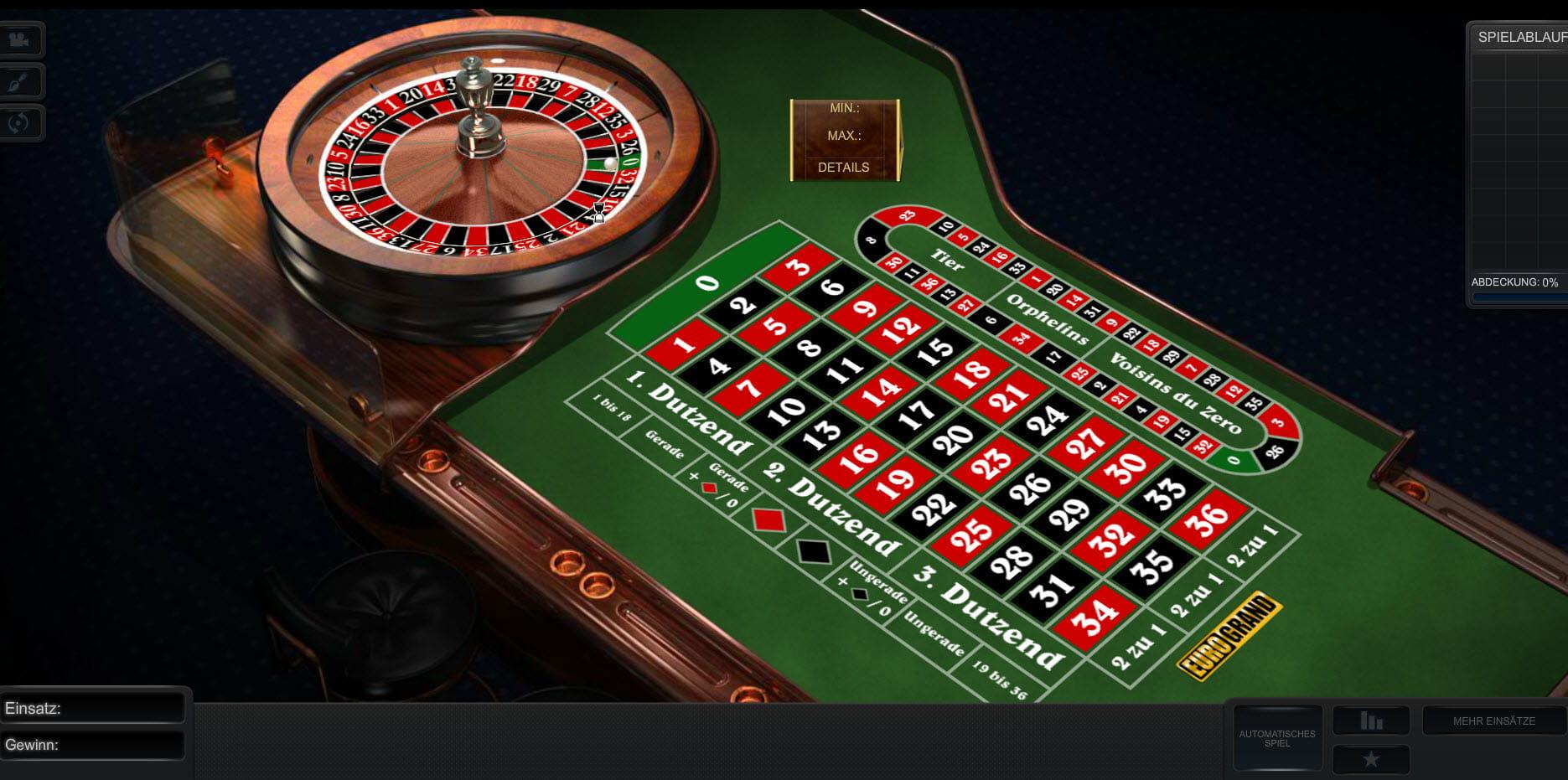 Europäisches Roulette Casino - 113210
