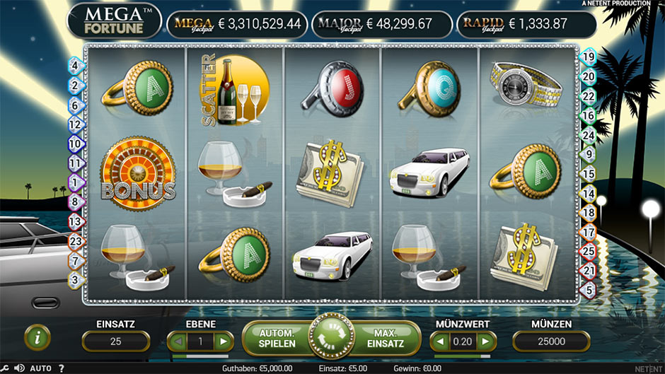 Fortune Jackpot Augenscanner - 638891