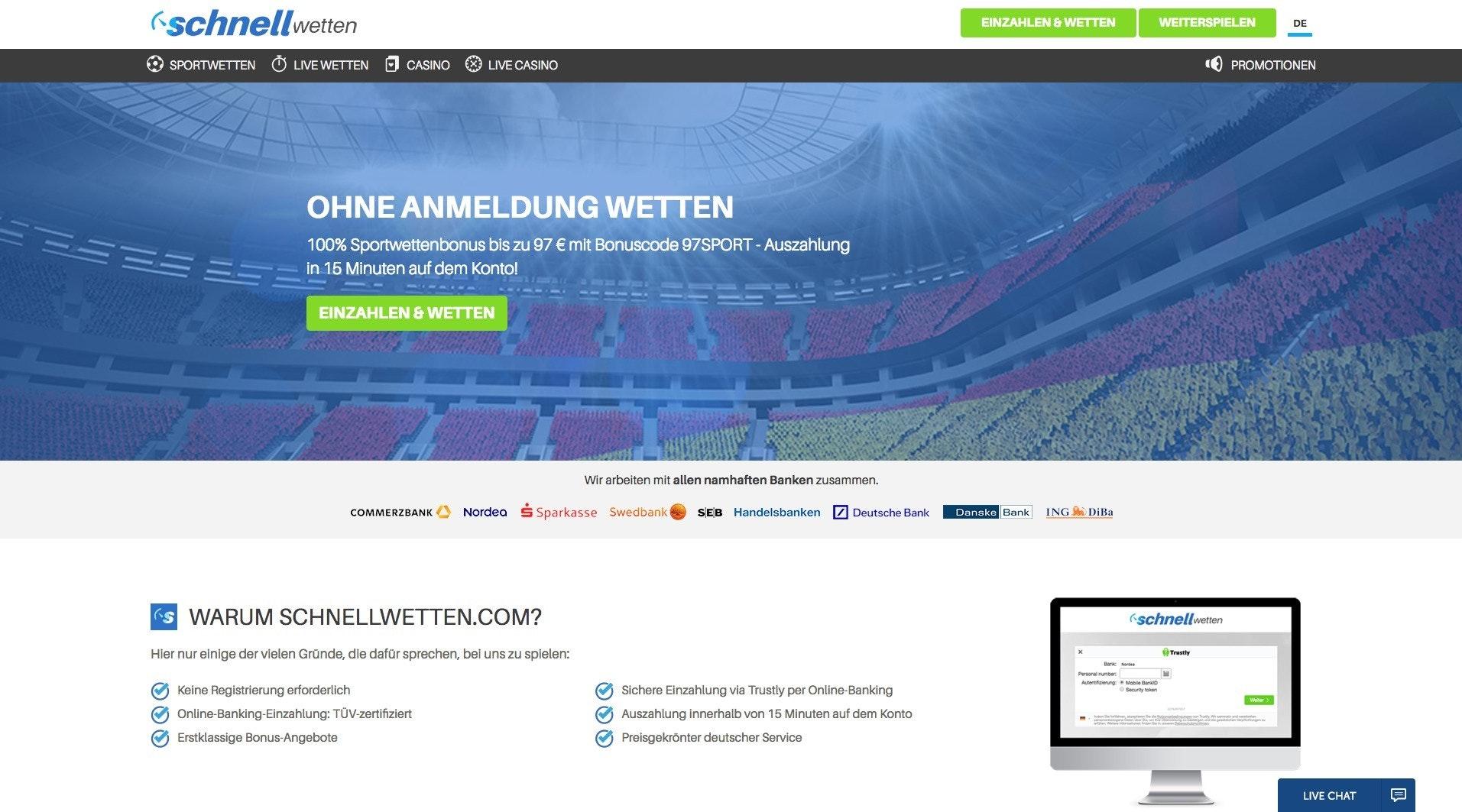 Online Wetten - 457618
