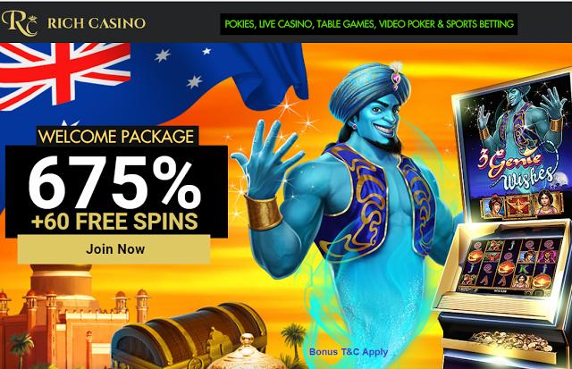 Rich Casino 100 - 286851