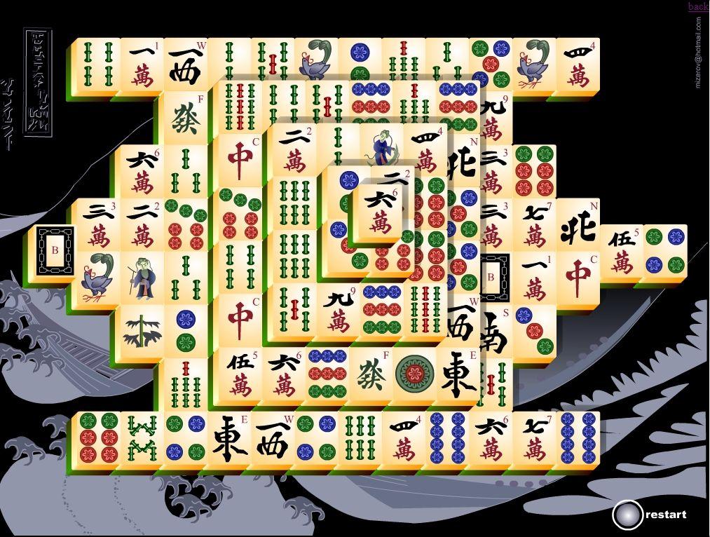 Spiel Mahjong - 693071
