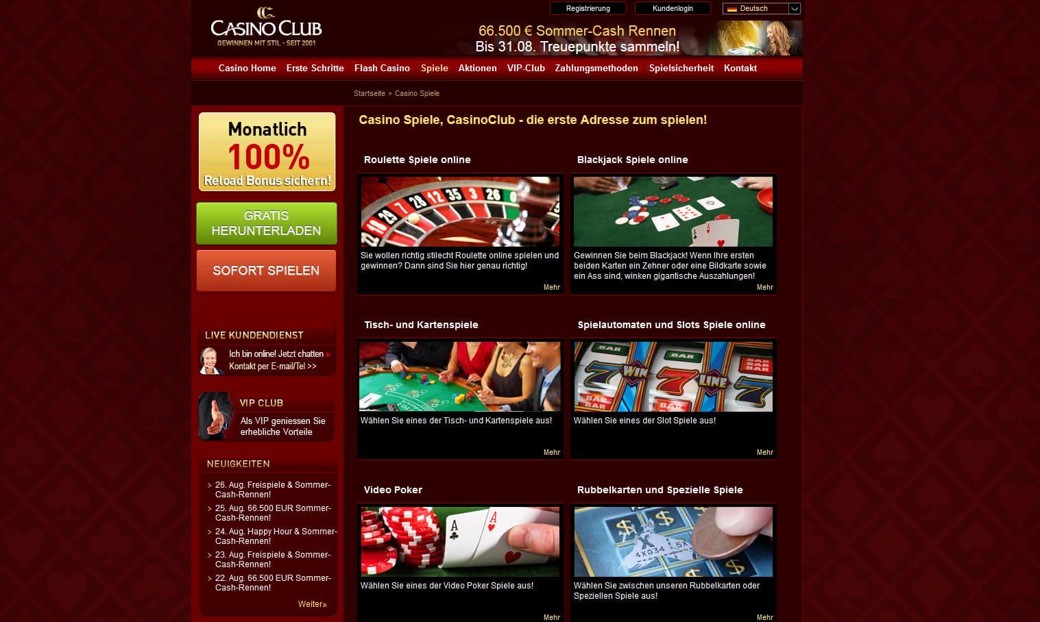 Spiele Casinos Kartenglücksspiele - 345846